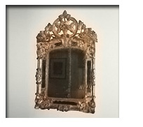 French Regence Carved Mirror